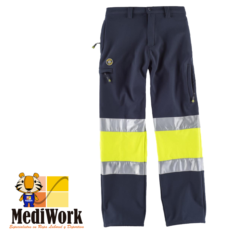 Pantalon WorkshellTrousers S9820 01