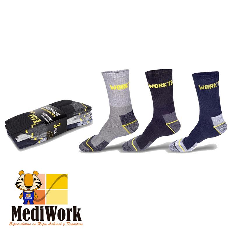 Pack de tres pares de calcetines WFA020 01