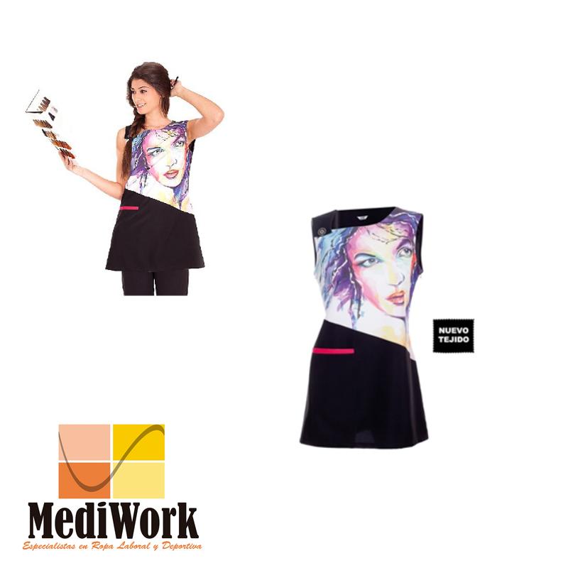 Vestido S/MANGAS ACUARELA 5527 02