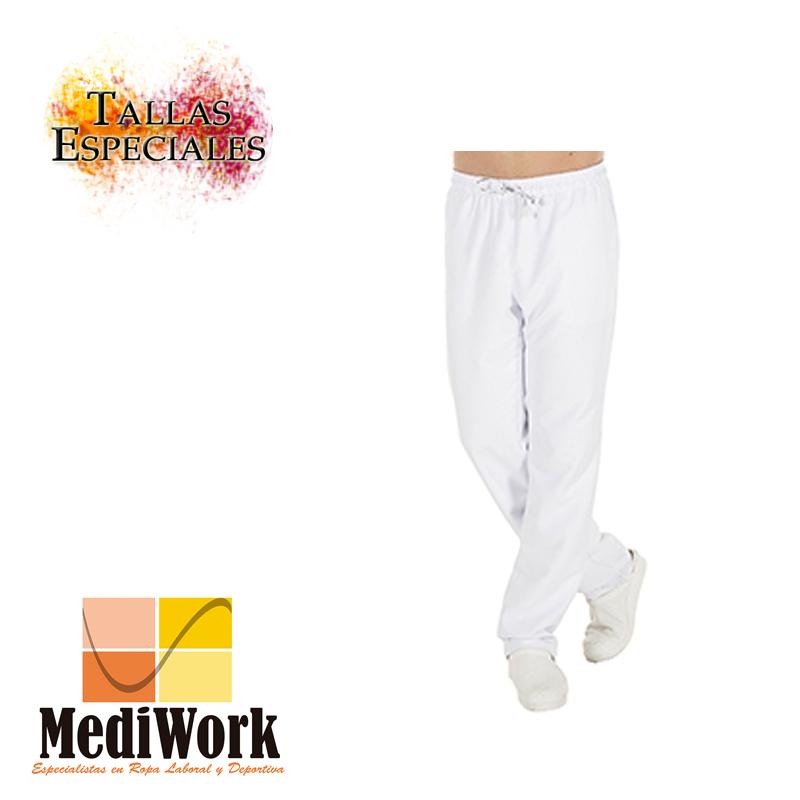 Pantalón unisex goma + cordón exterior microfibra 7006 A 02: