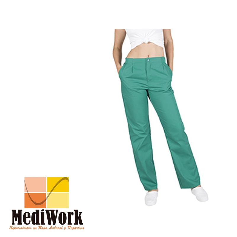 Pantalón colores unisex con cremallera y bolsillos tallaje especial 77300G 02