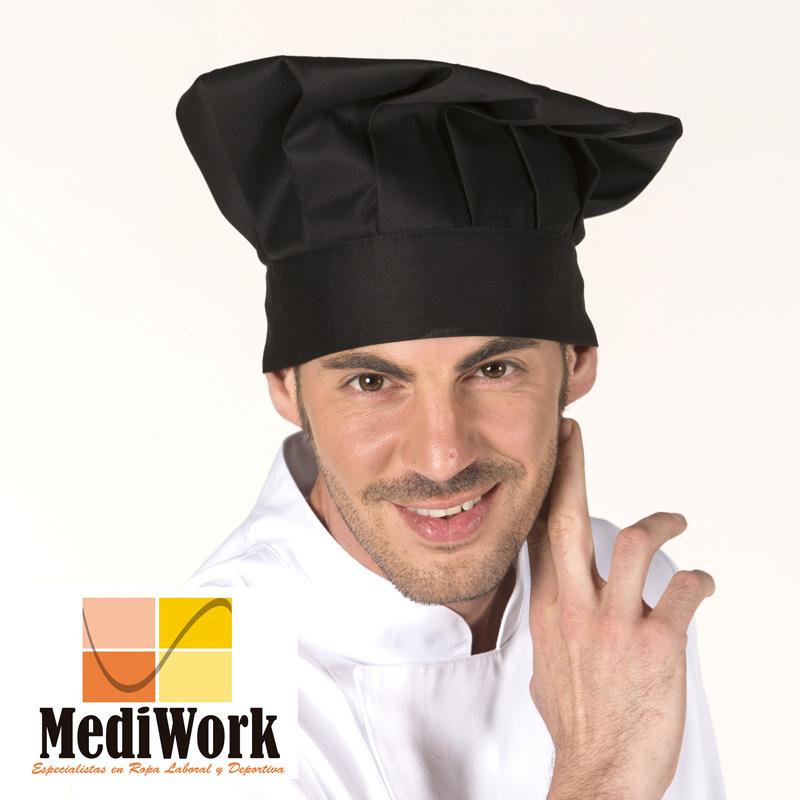 Gorro gran chef con velcro 4481V 02
