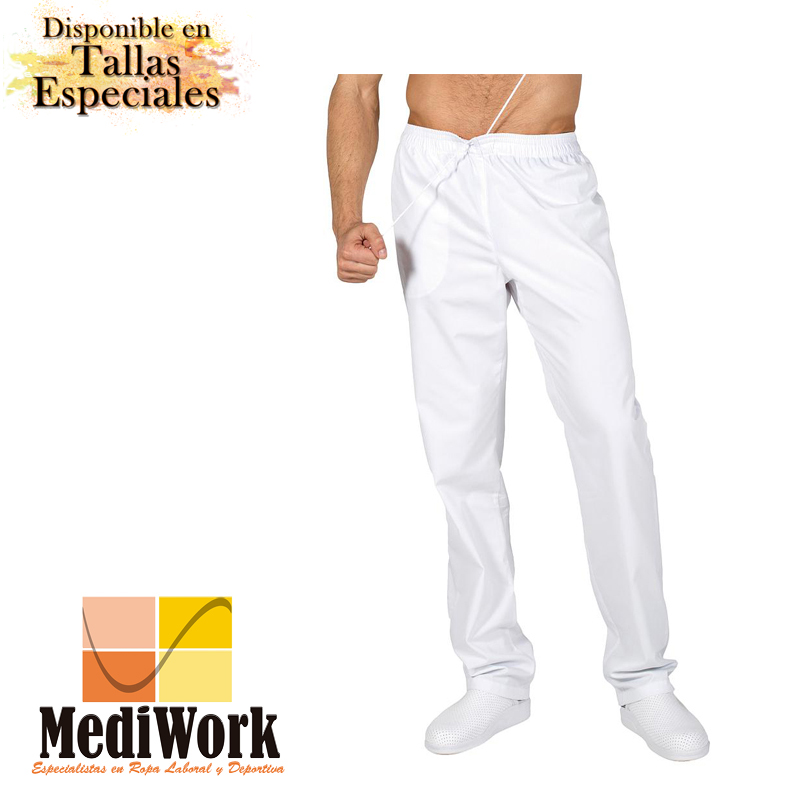 Pantalón goma + cordón interior sarga 7008A 02