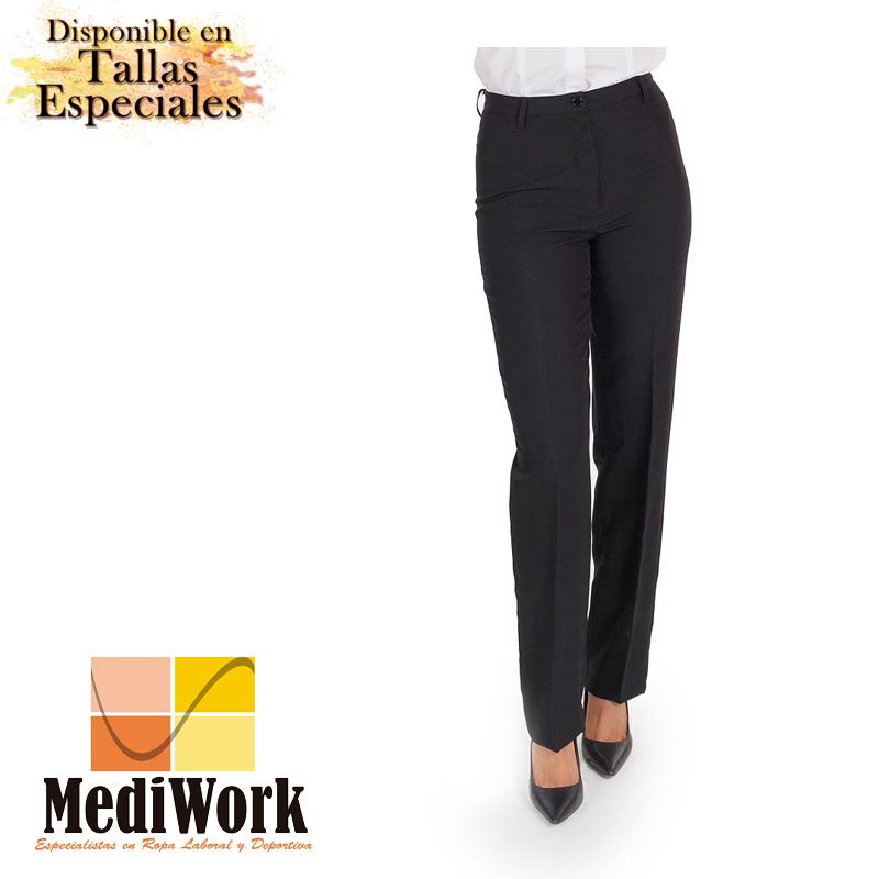 Pantalón mujer sin bolsillos 2032A 02