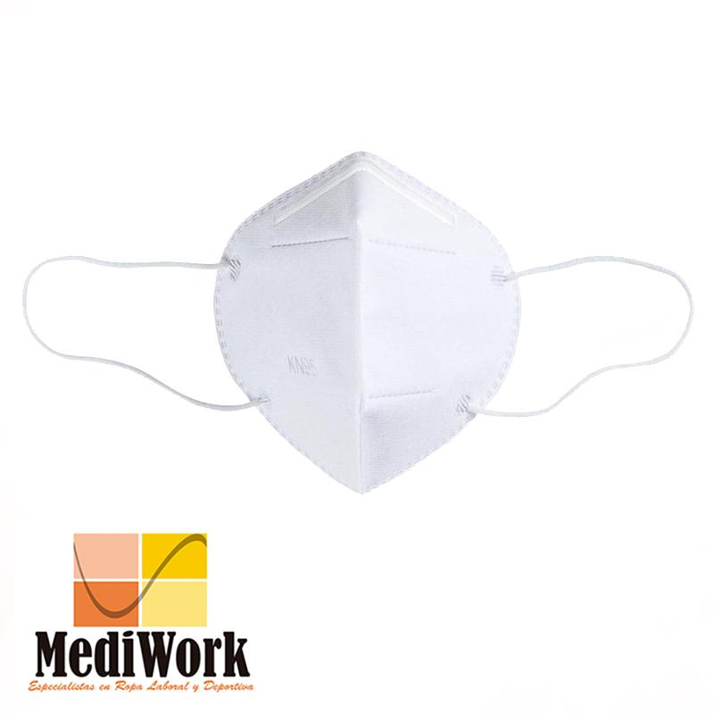 Mascarilla filtrante KN95 (PACK 20 unids)