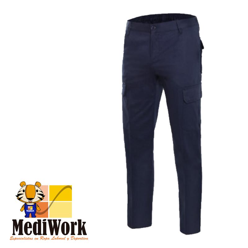 Pantalón 100% algodón multibolsillos SERIE 103013 09