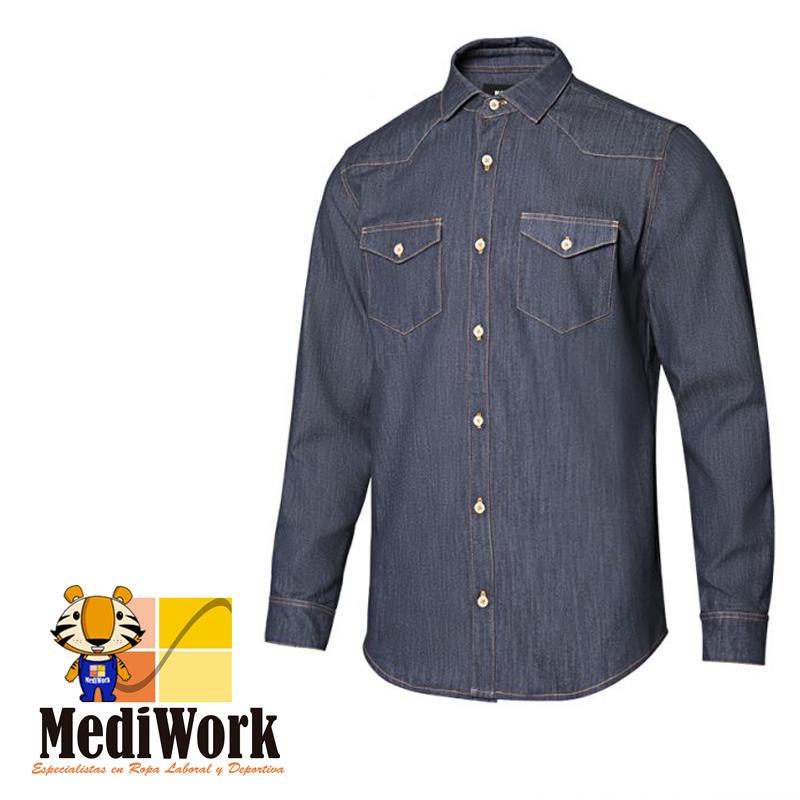 Camisa denim m/l hombre SERIE 405006S 09