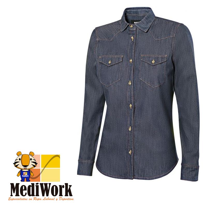 Camisa denim m/l mujer SERIE 405007S 09