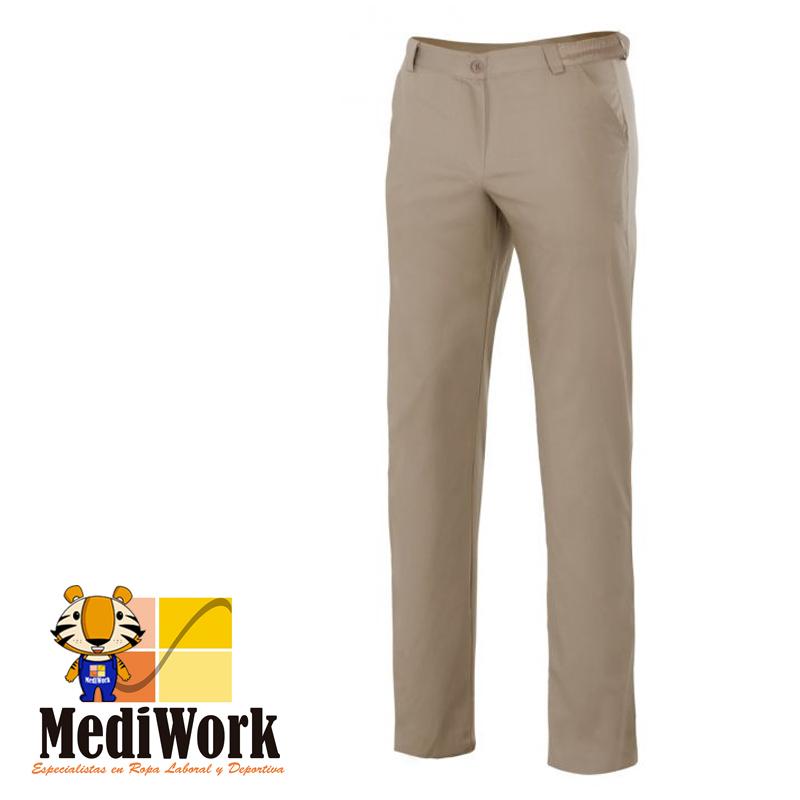 Pantalon chino stretch mujer SERIE 403005S 09