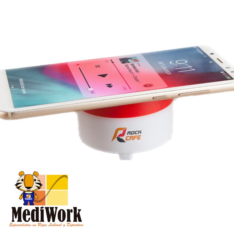 Altavoz Bluetooth con base de carga inalámbrica MOLLER 3205 03