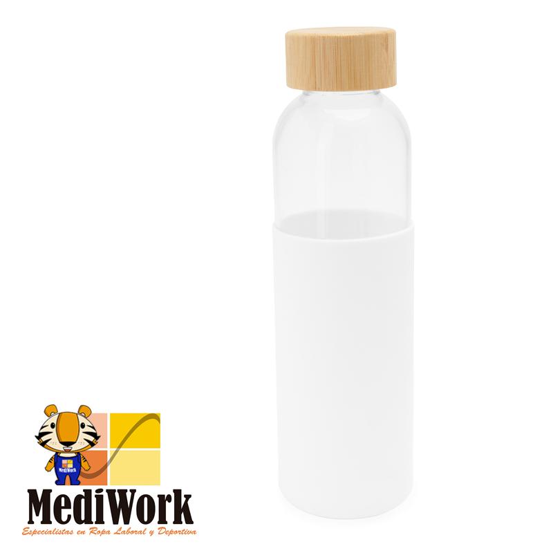 Bidón de cristal con tapón de bambú NAGAMI 4055 03