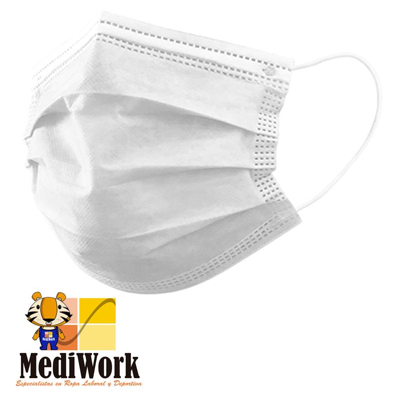 Mascarilla quirúrgica TIPO I (PACK 50 U.) PRESTON5 9928 03 (AGOTADAS)