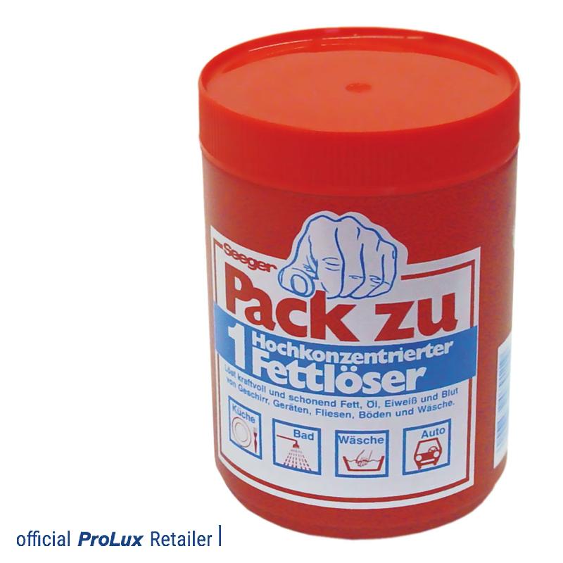 """Detergente concentrado """"Pack zu"""" 09099T Prolux"""