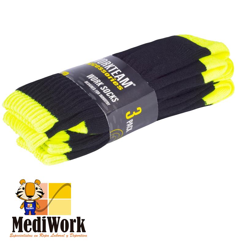 Pack tres pares de calcetines WFA021 01