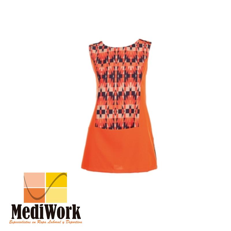 Vestido S/MANGAS ESCOTE ESPALDA 5522 02