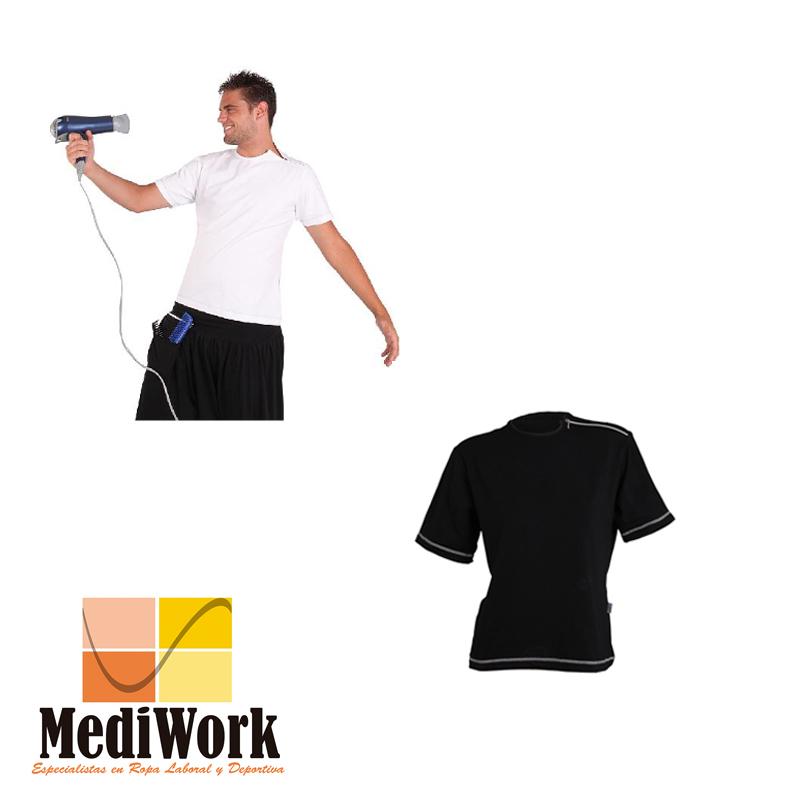 Camiseta CRO. M/CORTA CREMALLERA EN HOMBRO 8508 02