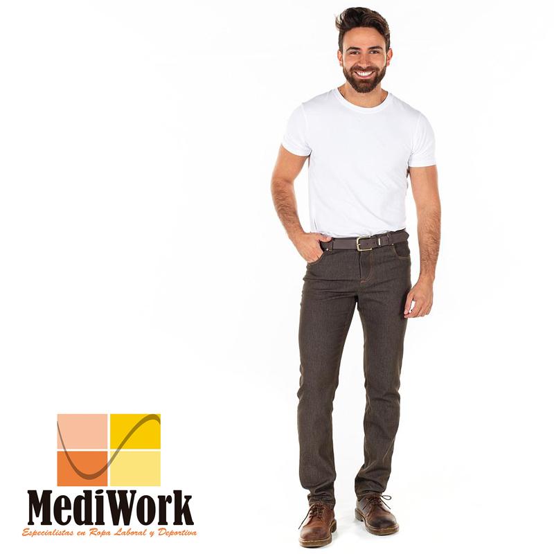 Pantalón hombre VAQUERO tallaje especial 7801 02
