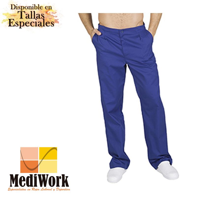 Pantalón colores unisex con cremallera y bolsillos 77300 02