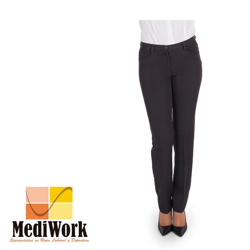 Pantalón mujer bioelastic con bolsillos tecno tallaje especial 2035B 02