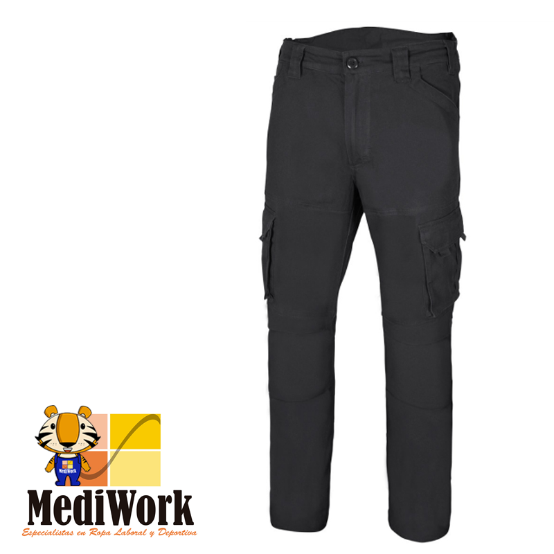 Pantalón algodón stretch multibolsillos Serie 103012S 09
