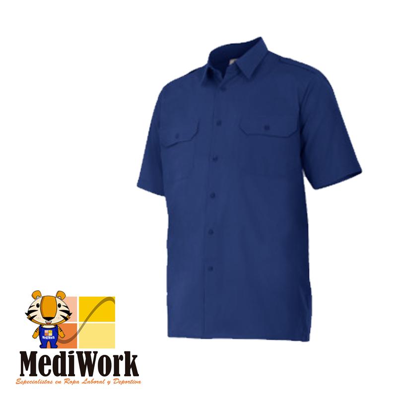 Camisa manga corta con galoneras SERIE 532 09