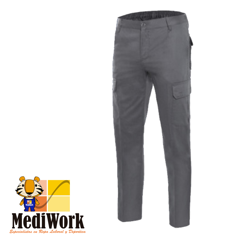 Pantalón 100% algodón multibolsillos SERIE 103003 09