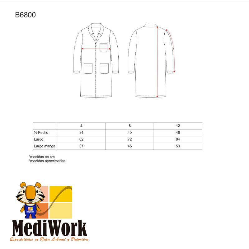 Bata de niño Coat B6800 01