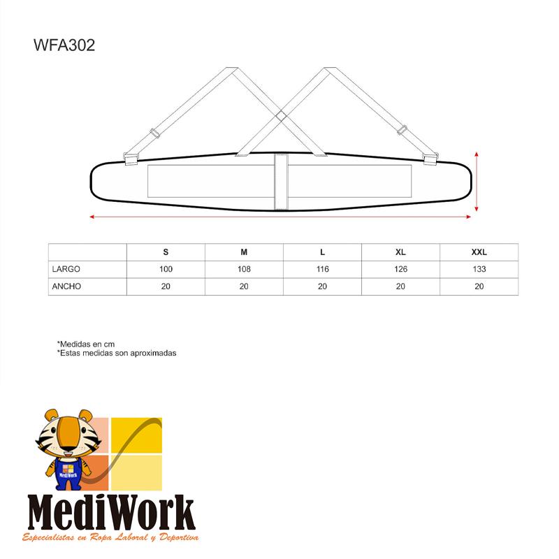 Cinturon Lumbar Support WFA302 01